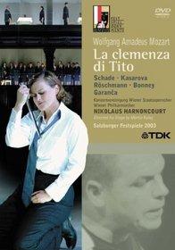 Mozart - La Clemenza di Tito / Dorothea Roschmann, Michael Schade, Barbara Bonney, Elina Garanca, Vesselina Kasarova, Nikolaus Harnoncourt, Salzburg Opera