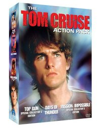 The Tom Cruise Action Pack (Mission Impossible Special Collector's Edition / Top Gun Special Collector's Edition / Days of Thunder)