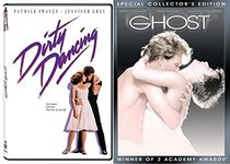 Ghost + Dirty Dancing Patrick Swayze Collection DVD Movie Set