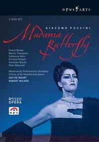 Puccini - Madama Butterfly / Barker, Thompson, Keen, Stilwell, Blanchet, Smeets, Bijnen, de Waart, Amsterdam Opera