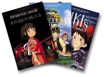 Miyazaki 3 Pack (Spirited Away/Castle in the Sky/Kiki's Delivery Service)