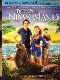 Return To Nim's Island (Blu-Ray + DVD + Vudu Digital Copy)