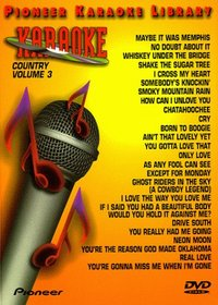 Karaoke / 25 Song Karaoke Library Country 203