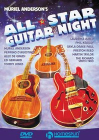 DVD-Muriel Anderson's All Star Guitar Night