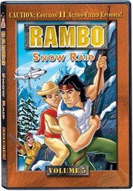 Rambo (Animated Series), Volume 5 - Snow Raid
