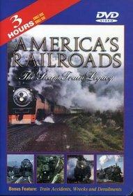 America's Railroads 1: Steam Train Legacy (B&W)