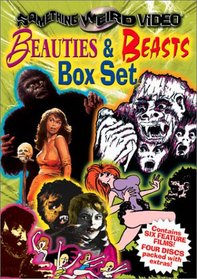 Beauties & Beasts Box (Night of the Bloody Apes/ Feast of Flesh / Mighty Gorga / One Million AC/DC / The Beast that Killed Women / The Monster of Camp Sunshine) (Something Weird)