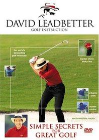 David Leadbetter Simple Secrets for Great Golf