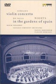 Sibelius - Violin Concerto /De Falla - Nights in the Gardens of Spain