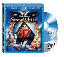 Snow White and the Seven Dwarfs (Two-Disc Blu-ray/DVD Combo + BD Live w/ Blu-ray packaging)
