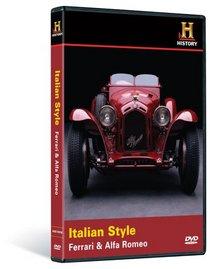 Automobiles: Italian Style - Ferrari & Alfa Romeo