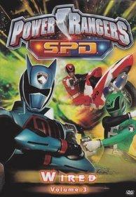 Power Rangers SPD - Wired (Vol. 3)