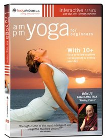 AM/PM Yoga For Beginners (with The Dalai Lama & 10 + Routines)