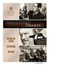 Essential Classics - Dramas (The Maltese Falcon / Citizen Kane / Ben-Hur)