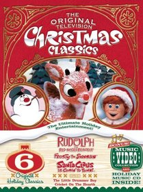 The Original Television Christmas Classics (Rudolph the Red-Nosed Reindeer/Santa Claus Is Comin' to Town/Frosty the Snowman/Frosty Returns/The Little Drummer Boy/Cricket on the Hearth)