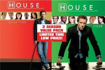 House: Season Three & Four (9pc) (Ws Sub Ac3)