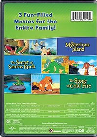 The Land Before Time V-VII 3-Movie Family Fun Pack (The Mysterious Island / The Secret of Saurus Rock / The Stone of Cold Fire)