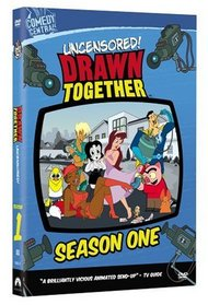 Drawn Together Season One Uncensored DVD with Adam Carolla