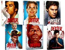 Dexter The Complete Series, Season 1, Season 2, Season 3, Season 4, Season 5, Season 6 (DVD 24-Disc Set)