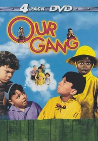 Our Gang 4-pack DVD: The Our Gang Story; Little Rascals Greatest Hits; Our Gang Comedy Festival #1; Little Rascals Varieties.