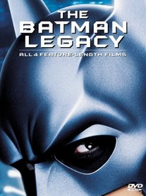 The Batman Legacy - All 4 Feature-Length Films