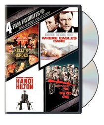 4 Film Favorites: War Heroes (Kelly's Heroes / Where Eagles Dare / Hanoi Hilton / The Big Red One)