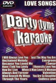 Party Tyme Karaoke: DVD Love Songs