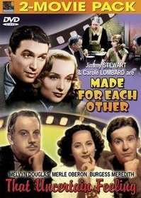 Comedy: Made for Each Other/That Uncertain Feeling