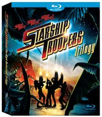 Starship Troopers 1-3 (+ BD Live) [Blu-ray]