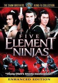 Five Element Ninjas (Shaw Brothers)