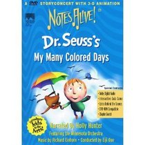 Dr. Seuss's My Many Colored Days (Notes Alive)