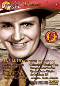 Gene Autry 10 Movie Pack