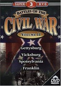 Battles of the Civil War Series, Vol. 2