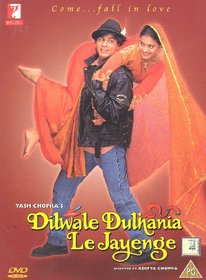 Dilwale Dulhania Le Jayenge (Bollywood Movie / Indian Cinema / Hindi Film / DVD)