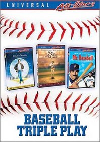 Baseball Triple Play (Field of Dreams / Mr. Baseball / For Love of the Game)