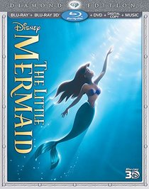 The Little Mermaid (Five-Disc Diamond Edition: Blu-ray 3D / Blu-ray / DVD + Digital Copy + Music)