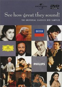 See How Great They Sound - The Universal Classics DVD Sampler
