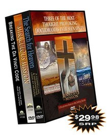 Best Books as Seen on TV: Breaking the Da Vinci Code/Miraculous the Mission/The Search for Heaven
