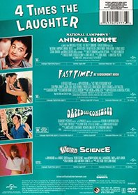 4 Movie Laugh Pack (Animal house / Fast Times at Ridgemont High / Dazed and Confused / Weird Science)