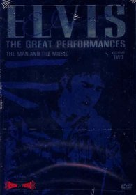 Elvis - The Great Performances, Vol. 2 - The Man and the Music
