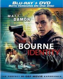 Bourne Identity (Single-Disc Blu-ray/DVD Combo)
