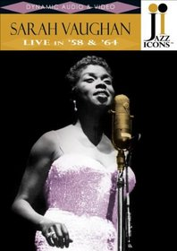 Jazz Icons: Sarah Vaughan Live in '58 & '64