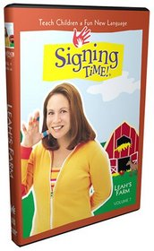 Signing Time! Volume 7: Leah's Farm