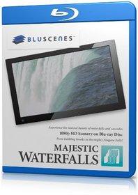 BluScenes: Majestic Waterfalls 1080p HD Blu-ray Disc