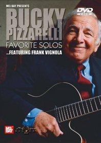 Mel Bay Bucky Pizzarelli - Favorite Solos (featuring Frank Vignola)