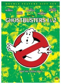 Ghostbusters Double Feature Gift Set (Ghostbusters/ Ghostbusters 2 and Commemorative Book)