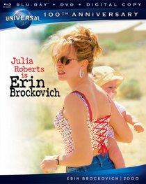 Erin Brockovich [Blu-ray + DVD + Digital Copy] (Universal's 100th Anniversary)