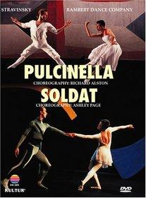 Stravinsky - Pulcinella & Soldat / Richard Alston, Ashley Page, Christopher Carney, Amanda Britton, Rambert Dance Company