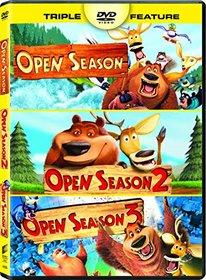 Open Season Dvd Triple Feature