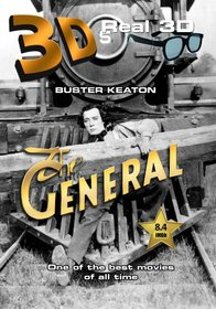 The General (1926) 3D (Real 3-D Side-By-Side)